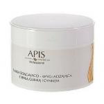 APIS PROFESSIONAL Maska ściągająco – wygładzająca z białą glinką i cynkiem